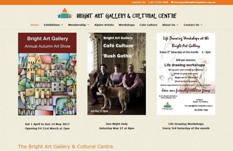 Bright Art Gallery