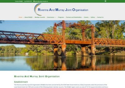 RAMJO – Regional And Murray Joint Organisation